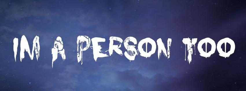 im a person