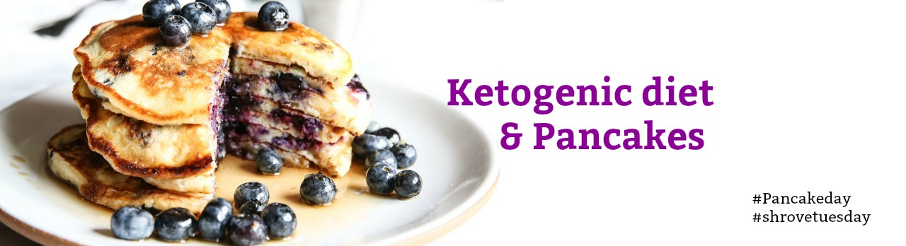 Ketogenic pancake recipe